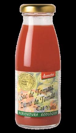 Zumo de tomate (Demeter) Cal Valls 200ml.