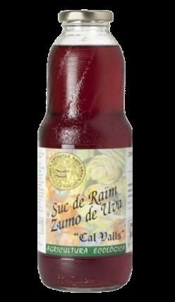 Zumo de uva negra eco Cal Valls 1l.