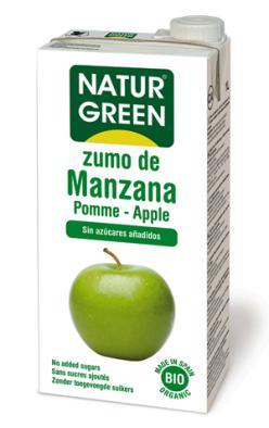 Zumo de manzana Naturgreen 1l.