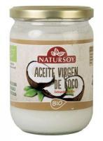 Aceite de coco bio Natursoy 400g.
