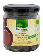 Aceitunas negras de Aragón secas 210g.