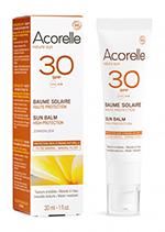 Crema solar facial SPF30 Acorelle 50ml.