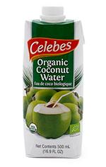 Agua de coco biológica Celebes 500ml.
