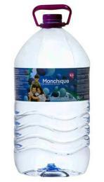 Agua mineral alcalina Monchique garrafa 5l.