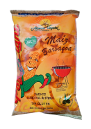 Gusanitos de maiz Pofulight barbacoa 38g.