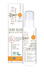 Crema solar fluida bio SPF50 Anthyllis 100ml.
