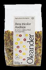 Aros tricolor andino Oleander 500g.