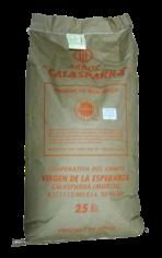 Arroz semi integral Calasparra saco 25kg.