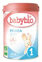 Leche para lactantes 1 Babybio 900g.