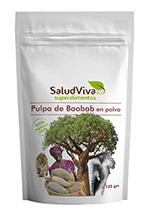 Baobab en polvo bio Salud Viva 125g.