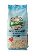 Copos avena integral finos Biocop 500g.