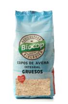 Copos avena integral gruesos Biocop 500g.