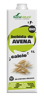 Bebida de avena con calcio Soria Natural 1l.