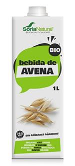 Bebida de avena bio Soria Natural 1l.