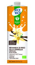 Bebida de arroz vainilla bio Probios 1l.