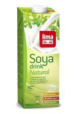 Bebida de soja Soya drink natural Lima 1l.