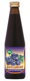 Zumo de arandano negro Beutelsbacher 330ml.