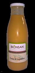 Crema de legumbres bio 720ml.
