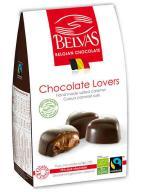 Bombones corazones rellenos de caramelo 100g.