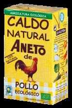 Caldo de pollo ecológico Aneto 1l.