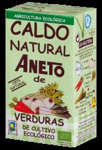 Caldo de verduras ecológico Aneto 1l.