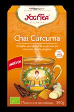 Chai cúrcuma Yogi Tea 17 bolsitas