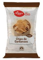 Chips de garbanzos bio 80g.