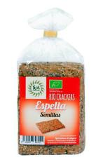 Crackers de espelta y semillas Sol Natural 200g.
