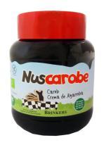 Crema de algarroba natural Nuscarobe 350g.