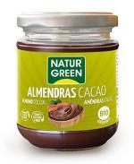 Crema almendras cacao Naturgreen 200g.