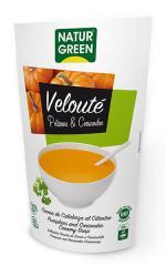 Crema de calabaza al cilantro Naturgreen 500ml.