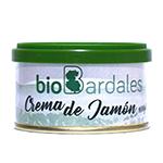 Crema de jamón serrano Biobardales 100g.