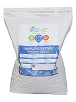Detergente en polvo universal Ecover 7,5Kg.