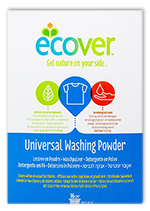 Detergente en polvo universal Ecover 1,2Kg.