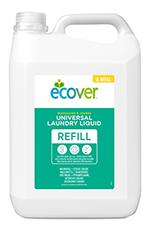 Detergente líquido concentrado Ecover 5l.