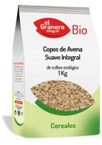 Copos de avena suaves integral bio 1kg.