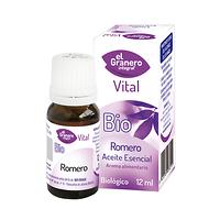 Aceite esencial de romero bio 12ml.