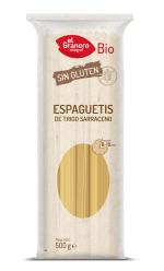 Espaguetis de trigo sarraceno bio El Granero Integral 500g.