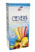 Polos flash (Bio Ice) de zumo de fruta 10 x 40ml.