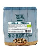 Granola manzana sin gluten Naturgreen 350g.