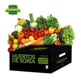 Caja de fruta y verdura ecológica 9kg.