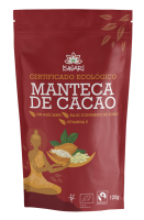 Manteca de cacao Iswari 125g.