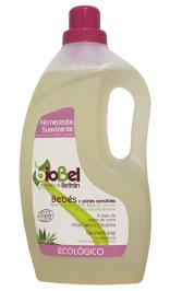 Jabón líquido para bebés y pieles delicadas Biobel 1500ml.