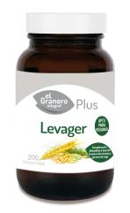 Levager (Levadura y germen) 200 comprimidos 400mg.