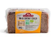 Pan de centeno y espelta Natursoy 500g.