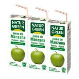 Zumo manzana mini 3x200ml.