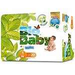 Pañales Bio Baby talla 1 (3-6Kg.) 20 unidades
