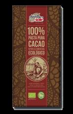 Pasta pura 100% cacao Solé 100g.