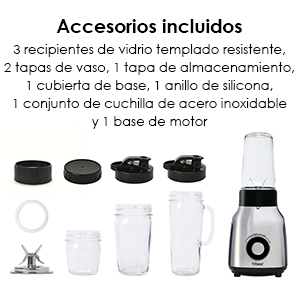 Batidora Personal Blender Glass