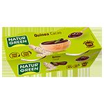 Postre de quinoa y cacao Naturgreen 2x125g.